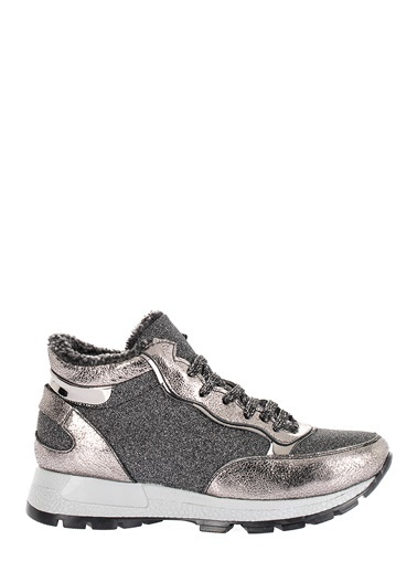 Pier Lucci Hakiki Deri Sneakers Gümüş